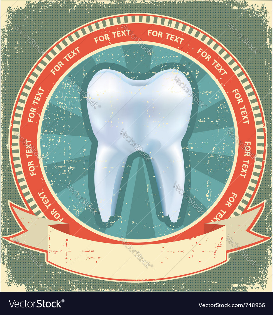 Tooth label vector