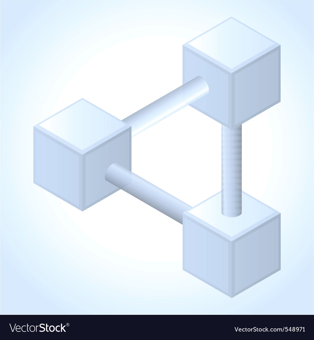 Endless geometry object vector