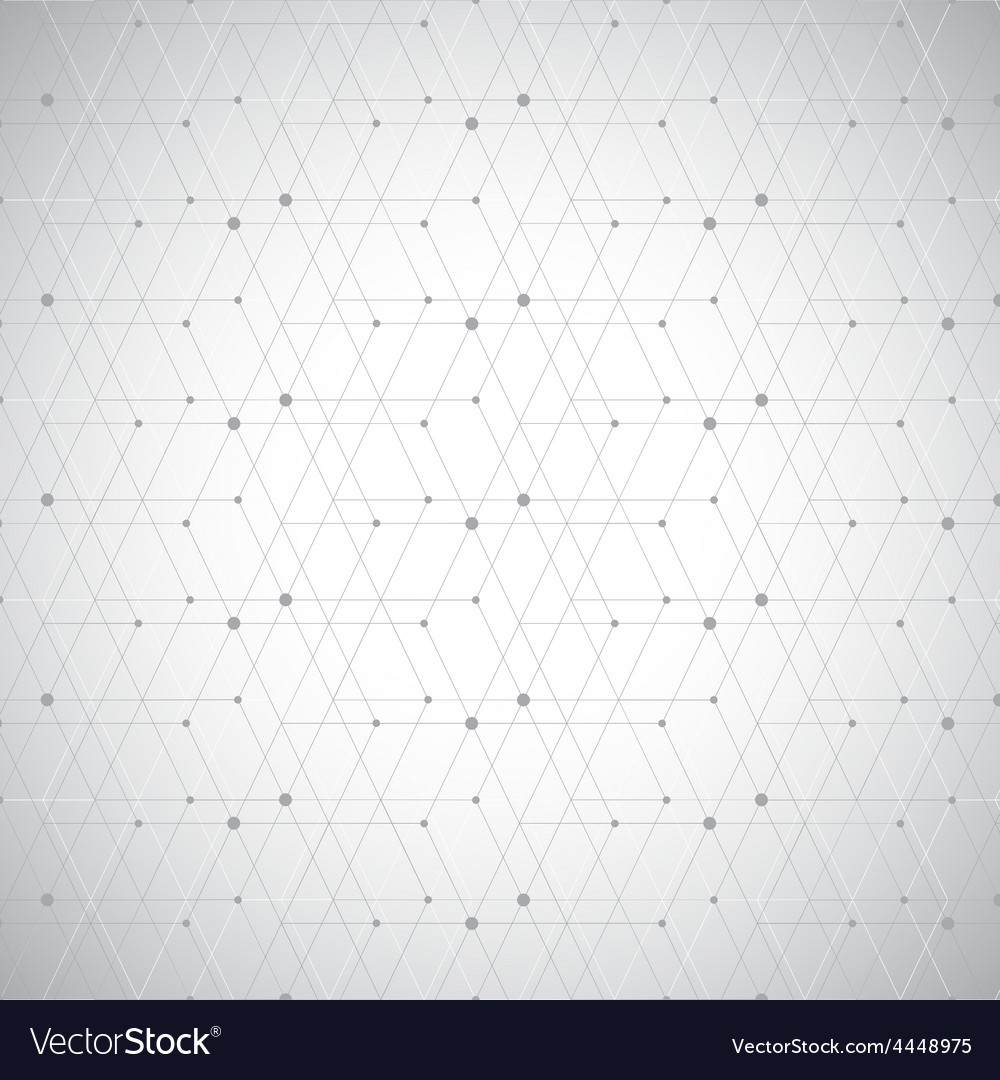 Modern abstract geometric pattern dot with vector