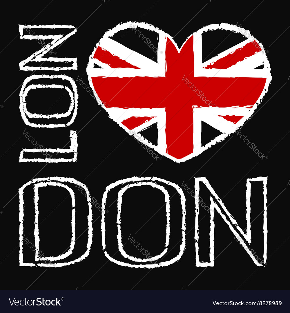 London city t shirt 2 vector