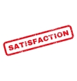 Satisfaction Rubber Stamp vector image