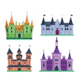 Castle cartoon vector image