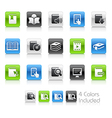 Books Icons Clean Series vector image vector image