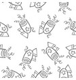 collection stock of circus theme doodles vector image