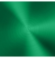 Green Metal background with realistic circular vector image