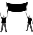 Two men vector image vector image