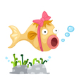 a fish vector image vector image