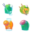 Basketball and baseball golf rugby accessories vector image