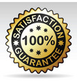 Guarantee label vector image