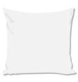 White pillow vector image