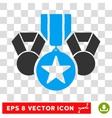 Awards Eps Icon vector image