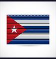 Cuba siding produce company icon vector image vector image