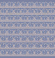 retro lace trim seamless pattern background vector image