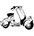 scooter 21 vector image