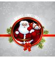 Santa claus christmas design vector image vector image