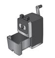 Pencil sharpener vector image