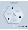 template for business concepts with icons can use vector image