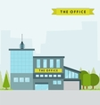 The office vector image