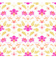 oriental ornament seamless pattern vector image