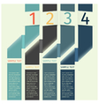 infographics design template banner vector image