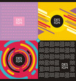 Backgrounds and textures multi color concepts vector image