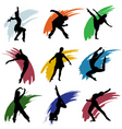 motion people vector image