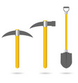 tool for mining set vector image