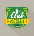 Soccer or Football Badge vector image vector image