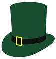 Irish hat vector image