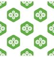 Gears pattern vector image