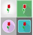 celebration flat icons 16 vector image