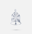 Bell First call A symbol of the school Beginning vector image