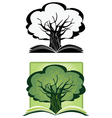 Knowledge tree vector image