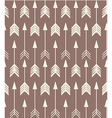 Bohemian arrows seamless pattern vector image