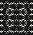 abstract geometric seamless pattern elegant black vector image
