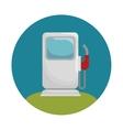 fuel station service icon vector image