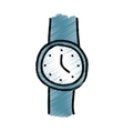 wristle watch isolated icon vector image