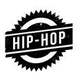 Famous dance style Hip-Hop stamp vector image