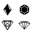 Gems vector image