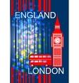 England London vector image