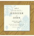 Wedding invite cards vector image