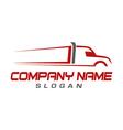 truck symbol vector image