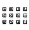 programming and application icons vector image