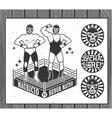Lucha Libre Collection vector image