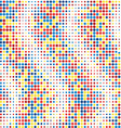 Abstract Colorful Background with Dotes Futuristic vector image