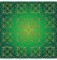 green swirly whirly seamless tile vector image vector image