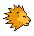 Creative lion vector image