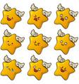 cute stars vector image
