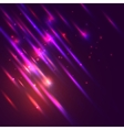 Abstract glowing shiny background with lights vector image