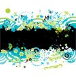 Summer background for your design vector image